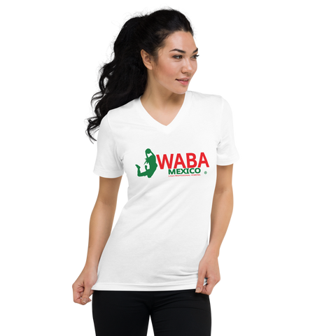 WABAMX | Unisex Short Sleeve V-Neck T-Shirt