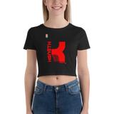 KENNETH VIQUE BRAND | ABAMX FANATIC Women's Crop Tee