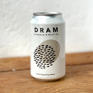 DRAM CARDAMOM & BLACK TEA SPARKLING WATER