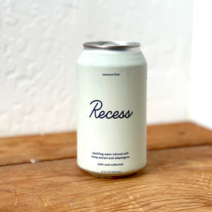 RECESS COCONUT LIME SPARKLING CBD DRINK