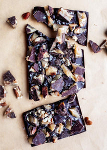WILDWOOD CHOCOLATE SALTED BROWN BUTTER TEXAS PECAN BRITTLE