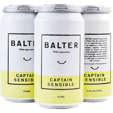 Balter Captain Sensible Can 375ml 4 Pack
