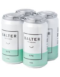Balter Extra Pale Ale can 375ml 4 Pack