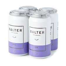 Balter IPA can 375ml 4 Pack