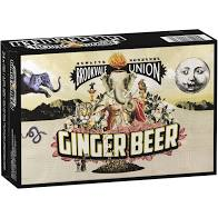 Brookvale Union Ginger Beer Can 330ml 24 Pack