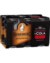 Bundy Op & Cola 6.0% Can 375ml 6 Pack