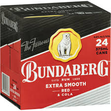 Bundy Red & Cola Cube4.6%375ml 24 Pack