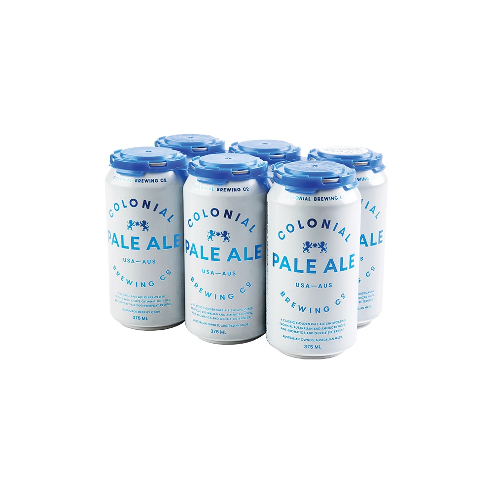 Colonial Pale Ale Can 375ml 6 Pack