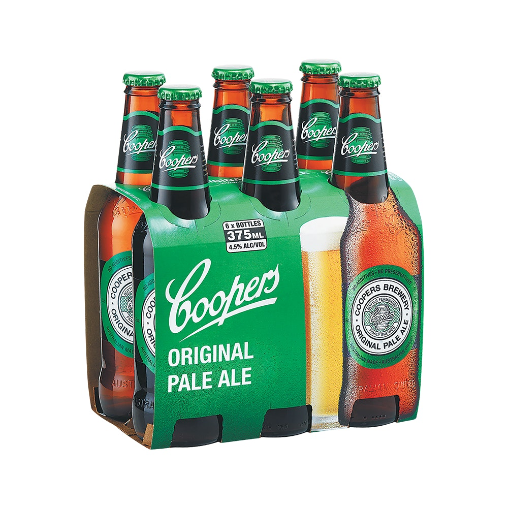 Coopers Pale Ale Cans 6 pack