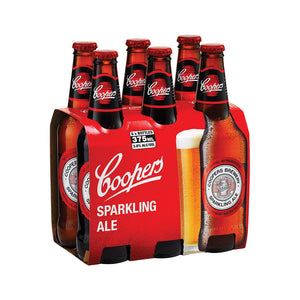 Coopers Sparkling Ale Stubbie 375ml 6 Pack