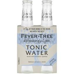Fever Tree Light Tonic 200ml 4 Pack