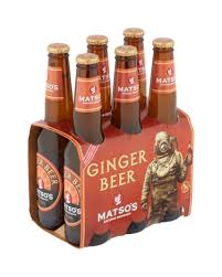 Matsos Alcoholic Ginger Beer Stubbie 330ml 6 Pack