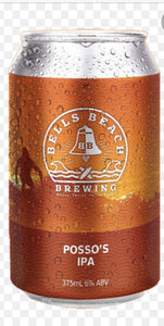 Bells Beach Brewing Possos IPA 6 Pack