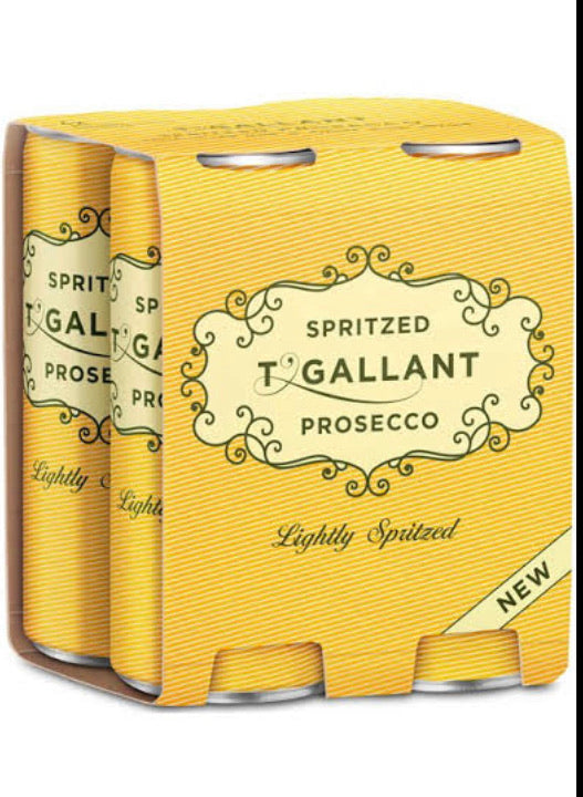 T'gallant Spritz Prosecco Can 250ml 4 Pack