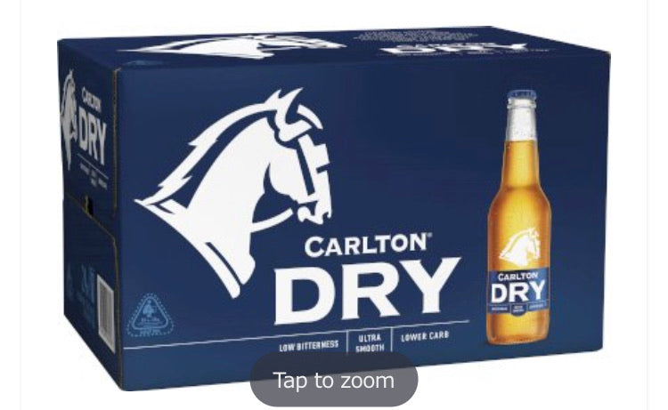 Carlton Dry Stubbies 330ml 24 Pack