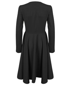 Emma Concept Tailored Coat (Black)