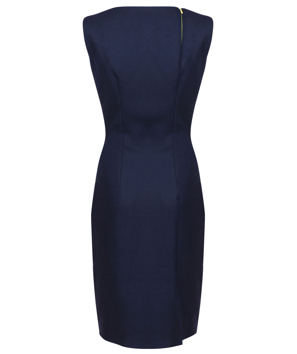 Kate Asymmetric Lapel Dress (Concept)