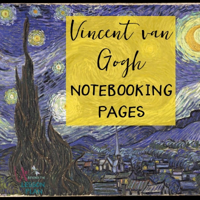 Vincent van Gogh Notebooking Pages