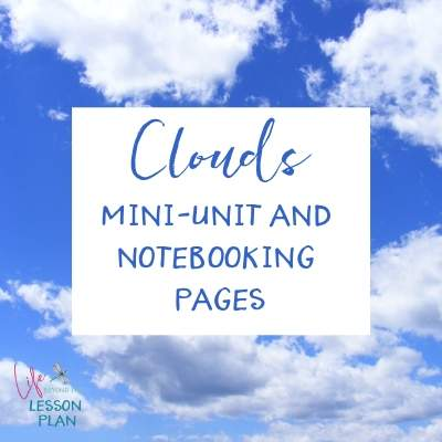 Clouds Mini Unit and Notebooking Pages