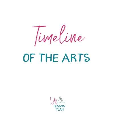 Timeline of the Arts
