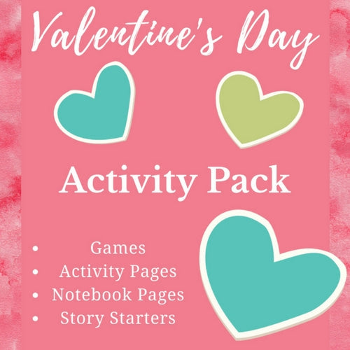 Valentine's Day Activity Pack Cover