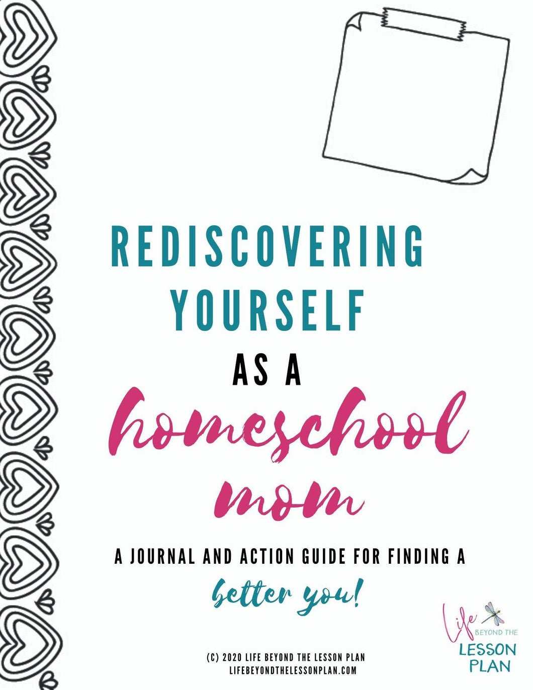 Rediscovering Yourself as a Homeschool Mom Journal