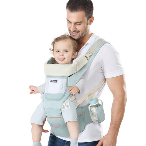 ህጣናትን በፊት ልፊት ማዝያ   / Infant Carry (Hipseat, Carrier)
