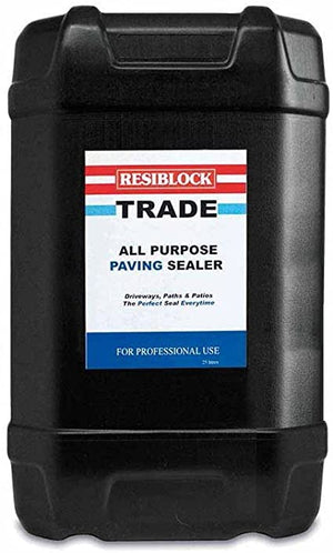 Resiblock Trade Clear Paving Sealer - Clear 25 Litre