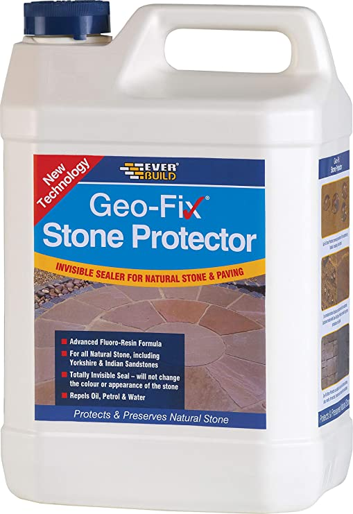 Geofix Natural Stone Protector Patio Sealer - 5 Litre