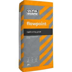Ultrascape Flowpoint Rapid Flow Grout - Charcoal 25kg