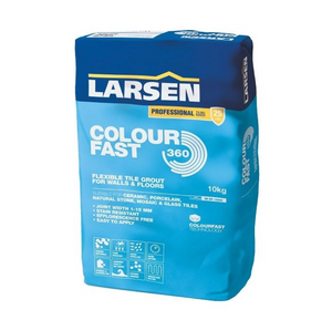 Larsen Colourfast 360 Premium Wall And Floor Tile Grout - Taupe