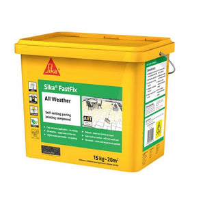 Sika Fastfix All Weather Paving Jointing Compound - Flint 15kg