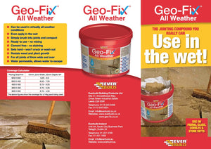 Geo-Fix All Weather Paving Jointing Compound - Mid Grey 14kg