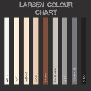 Larsen Colourfast 360 Premium High Grade Silicone 300ml - Ivory