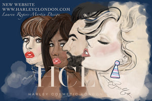New website for Harley Cosmetic London