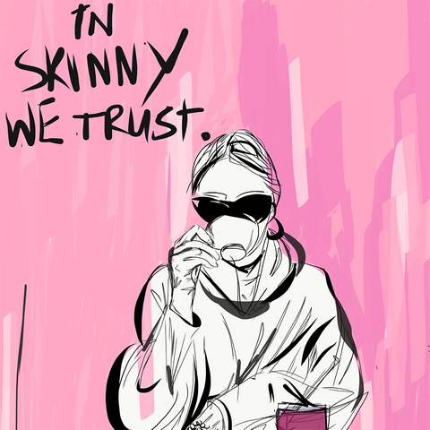 The Skinny Kitchen | In Skinny We trust artwork