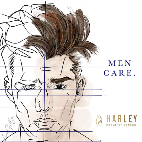 Harley Cosmetics London Men care