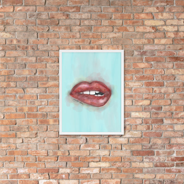 KISS ME LIPS VII - BLUE