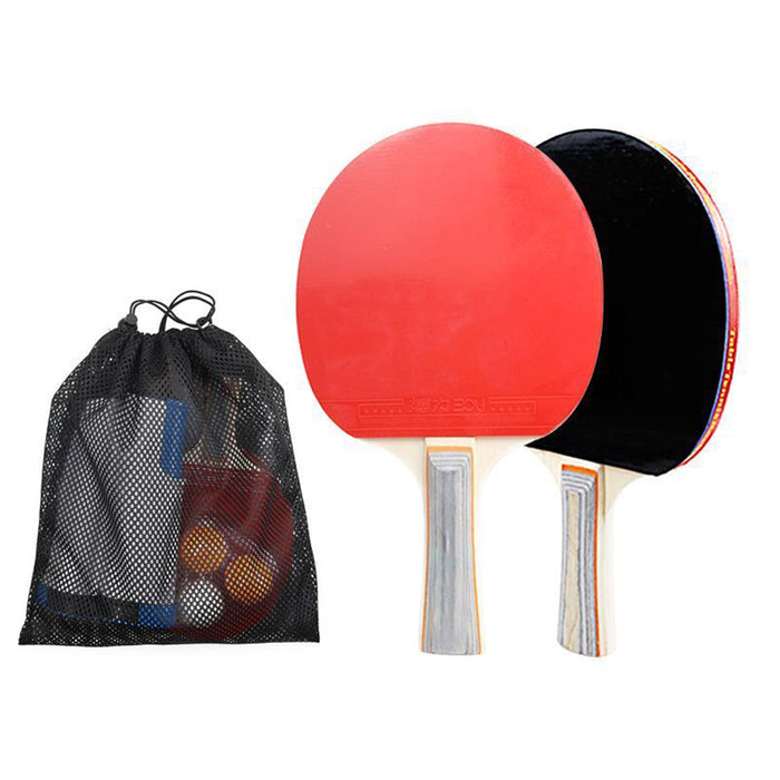 Portable Ping Pong Sets, Retractable Table Tennis Nets with 2 Bats and 3 Balls
