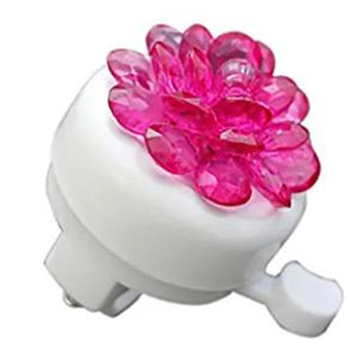 Bicycle Bell Kids Crystal Flower