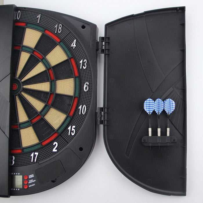 Electronic Dartboard, Classic Cabinet Door Style