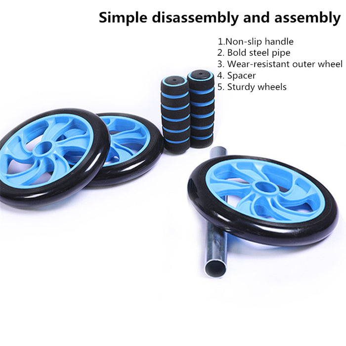 Roller Wheel for Abdominal Exercise Home Gym Core Workout