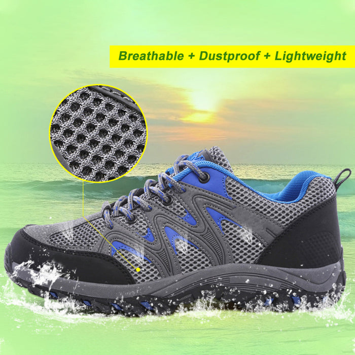 Unisex Walking Shoes , Breathable, Lace Up Trainers