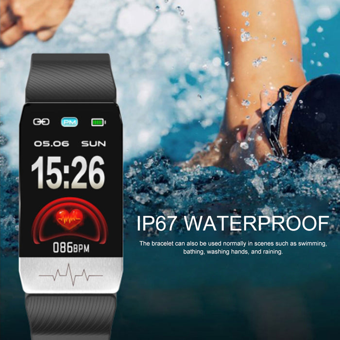 Smart Watch Fitness Trackers Touch Screen Blue
