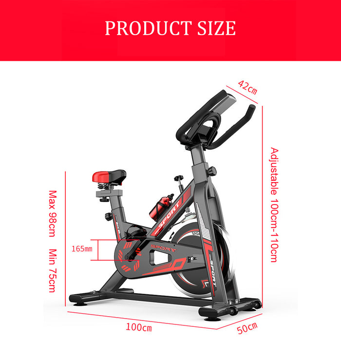 Indoor Cycling Bike Spinning Bicycle, Ultra-Quiet Fitness Bike