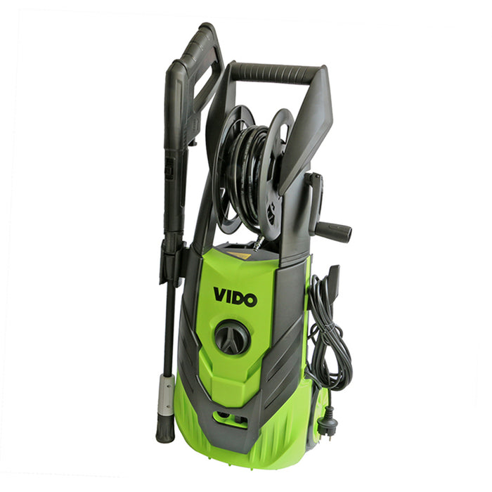 Electric Pressure Washer, with Wheels, 2000W, Green
