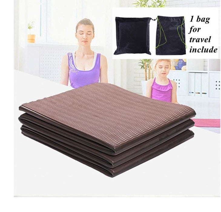TPE Foldable Body Stretching Yoga Mat