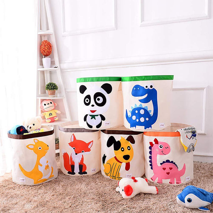 Waterproof Laundry Basket Household Organizer Kids Toy Storage