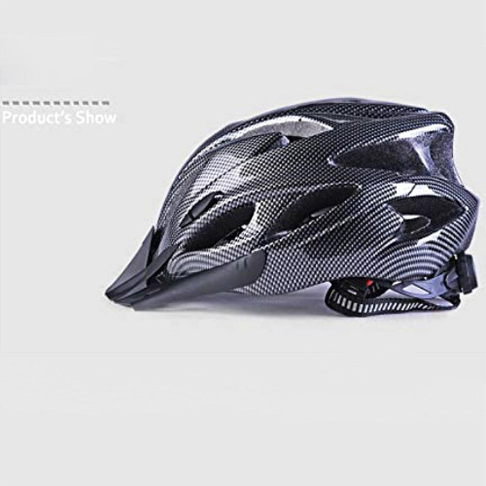 Bicycle Helmet Carbon Black Breathable Fashion