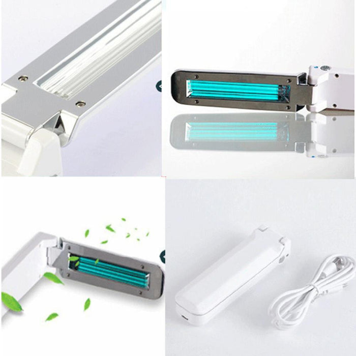 UV Disinfection Lamp UV, USB Charging, Collapsible